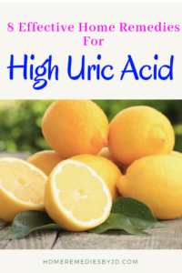 remedies for high uric acid