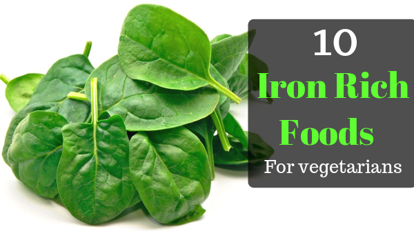 Iron rich foods for vegetarian