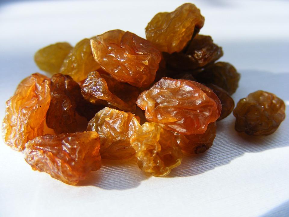raisins for underweight