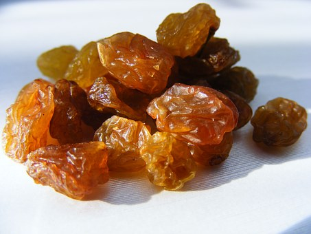 raisins for iron