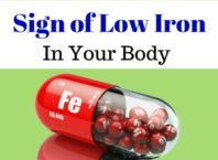 Low iron levels symptoms