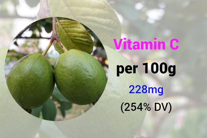 vitamin C rich fruits