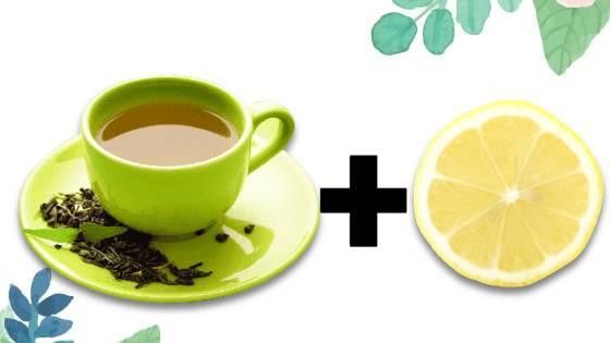 Health benefits of green tea with lemon